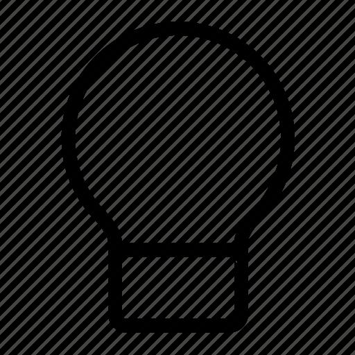 bulb, energy icon