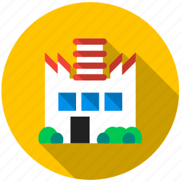 chimney, development, factory, industry, product, production, raw material icon
