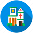 church, faith, god, jesus, sacrament, synagogue, temple icon