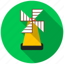 industry. development, mill, product, production, raw material, windmill icon