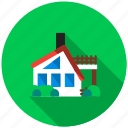 architect, balcony, building, house, housing, property, window icon