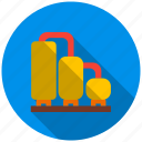 corn, flow, fuel, magazine, silo, supply, tank icon