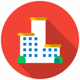 bulding, development, family, high-rise, hospital, house, real estate icon