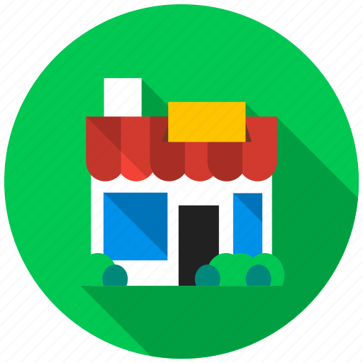 fuel, rest, shopping, snack, stop, store, sweets icon