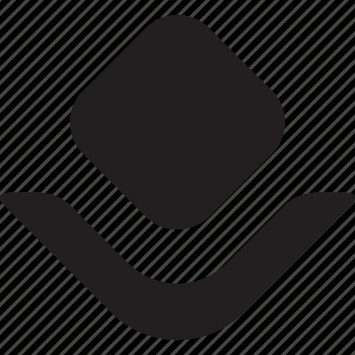 bottom, bulletfont, bulletpoint, customshape, decoretive, listicon, typography icon