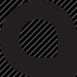 bulletfont, bulletpoint, customshape, listicon, pin, strokeright, typography icon