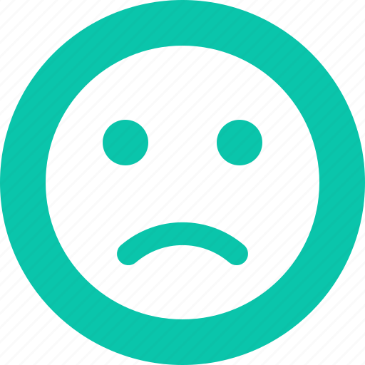 bulletfont, bulletpoint, custom, customshape, disappointed, emoticon, emoticons, emotion, face, listicon, point, sad, shape, typography, wingding icon