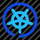 orthogonal, grid, polar