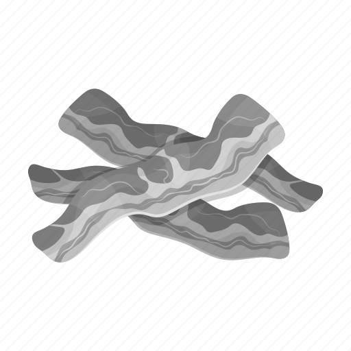 bacon, cooking, food, ingredient, meat, product, restaurant icon