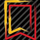 bookmark, education, favorites, favourite icon