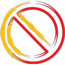 ban, block, forbidden, forbiden icon