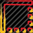 border, frame, image, photography icon