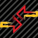 arrows, move, navigate, right icon