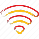 net, network, signal, wireless icon