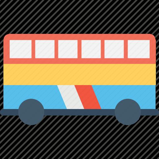autobus, bus, coach, doubledecker, metrobus, omnibus icon