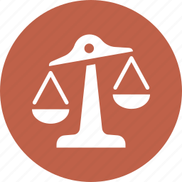 balance, choice, justice, law, scales icon