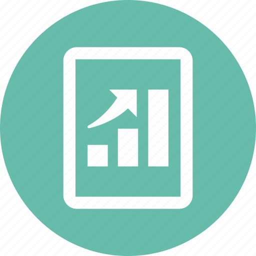 analytics, business growth, graph, statistics icon
