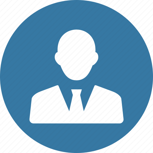 avatar, business, businessman, man, user icon