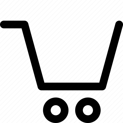 attribute, business, cart, empty, professional icon