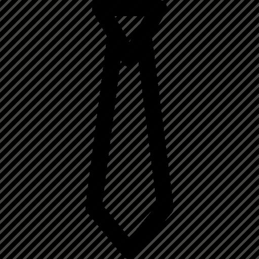 attribute, business, cloth, professional, tie icon