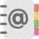 address book, contacts, directory, phone directory, phonebook icon