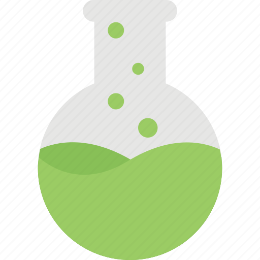 beaker, chemistry, erlenmeyer flask, florence flask, laboratory icon