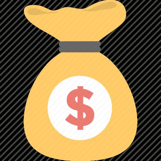 money bag, money pile, money sack, money stack, rich icon