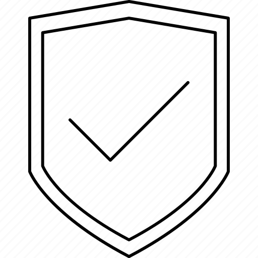 accept, business, good, shield icon