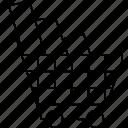 business, cart, shopping, supermarket