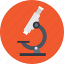 lab instrument, microscope, research, science, science lab icon