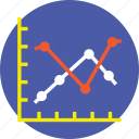 analytics, bar chart, bar diagram, bar graph, statistics icon