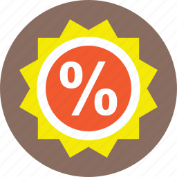 discount coupon, sale element, sale offer, sale sticker, shopping discount icon