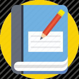 author, book publishing, book write, book writing, writer icon