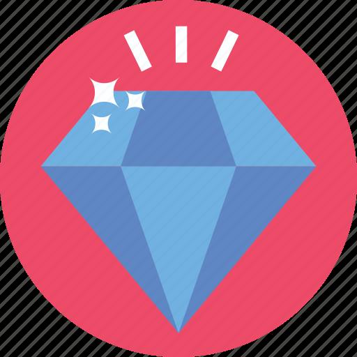 bright, diamond, precious, premium, quality icon