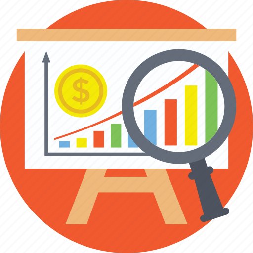analysis, analytic, business monitoring, finance, market survey, statistics icon