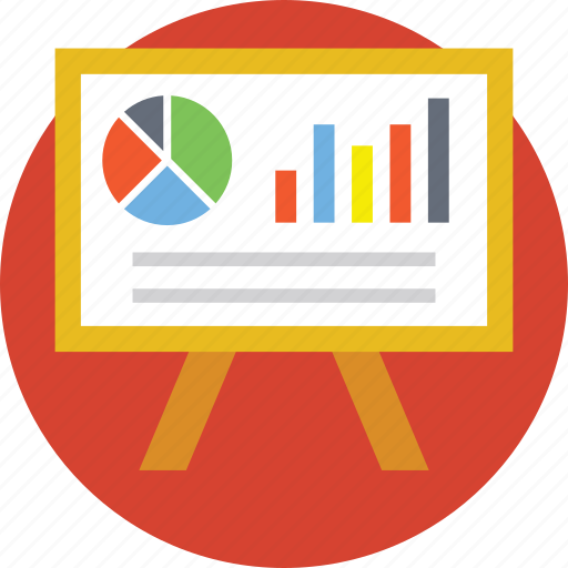 business analysis, business presentation, economic, finance, statistics icon