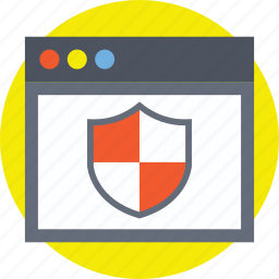 internet security, web application security, web protection, website firewall, website security icon