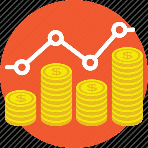 marginal revenue, monopolistic competition, monopolistic economics, profit graph, profit increase icon