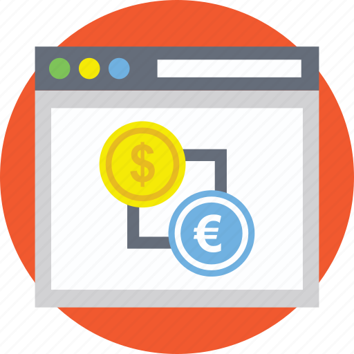 currency converter, currency exchange, foreign currency exchange, forex, forex trading website icon