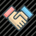agreement, handshake, deal