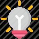 bulb, business, idea, light, light bulb
