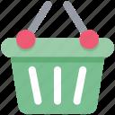basket, cart, shopping, shopping basket