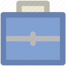 bag, business bag, case, office, office bag, official bag, portfolio icon