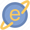 e learning, explorer, internet, internet explorer, internet searching icon