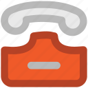 communicate, dial, landline, telecommunication, telephone, telephone set icon