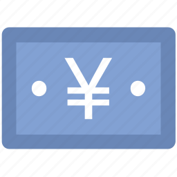 banknote, currency, finance, money, yen note icon
