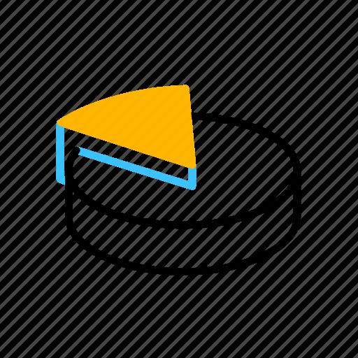 analytics, business, chart, pie icon