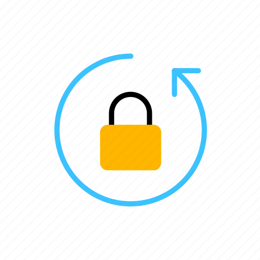 access, business, data, password, recovery icon