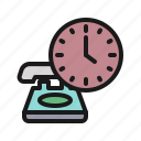 appointment, call, clock, contact, schedule, telephone, time icon