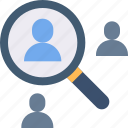 employee, find, person, research, search, user